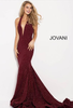 Jovani plunging glitter prom dress 55414