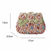 Beautiful Floral Bag Crystal Purse by Stardust - jovani-dress