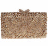 Clutch Bag Envelope Style Gold Luxury Purse