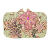 Butterfly Purse and Floral Clutch Bag - jovani-dress