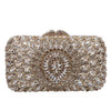 Silver Evening Clutch Purse Bag Jewel Crystal - jovani-dress