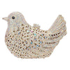 Bird Clutch Bag Covered in Rhinestones and Jewels - jovani-dress