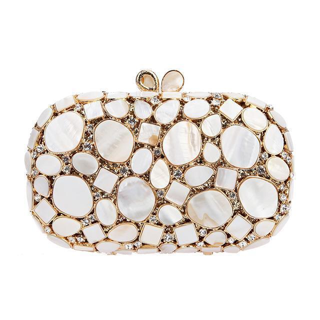 Stone Purse Clutch Bag Jewels - jovani-dress