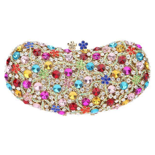 Multicoloured Clutch Bag