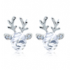 Rudolph Reindeer Christmas Earrings Transparent Earrings
