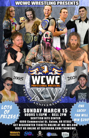 The WCWC 15th Anniversary Show