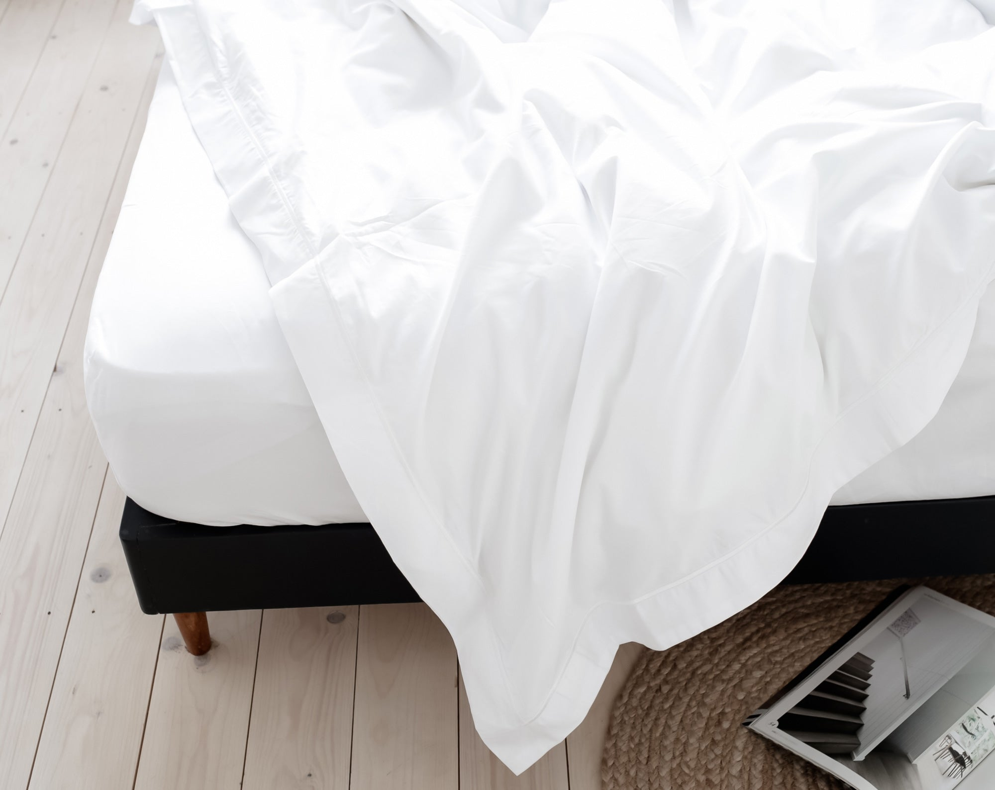 Slept in bed | scooms bedding