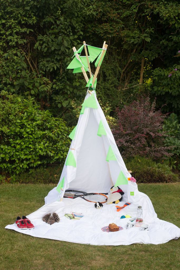 How to make a kids teepee | scooms bedding