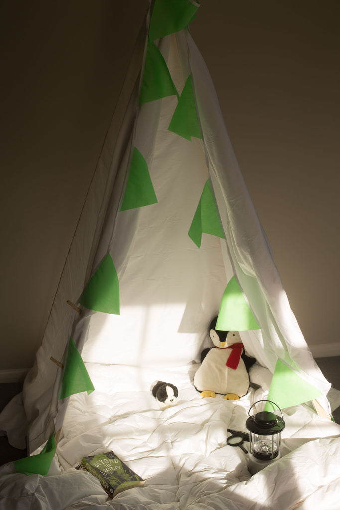How to make a teepee | scooms bedding