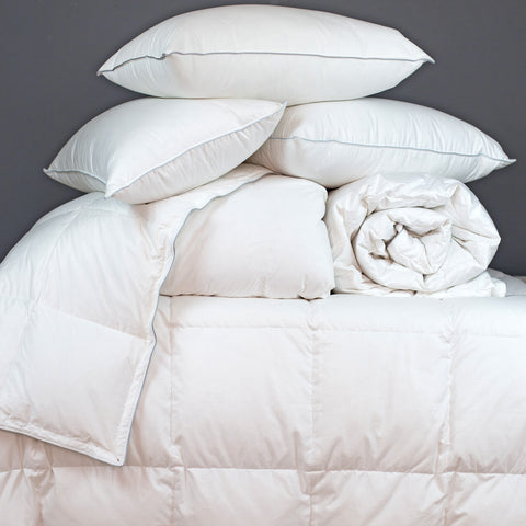 Goose down duvets and pillows | scooms