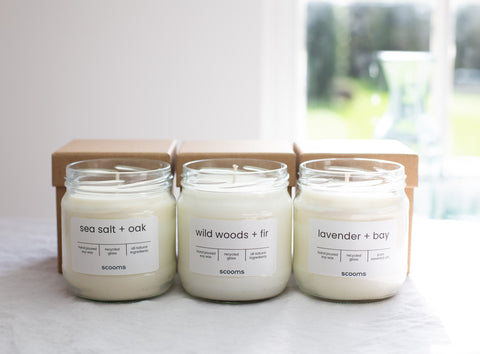 Natural scented candles | scooms