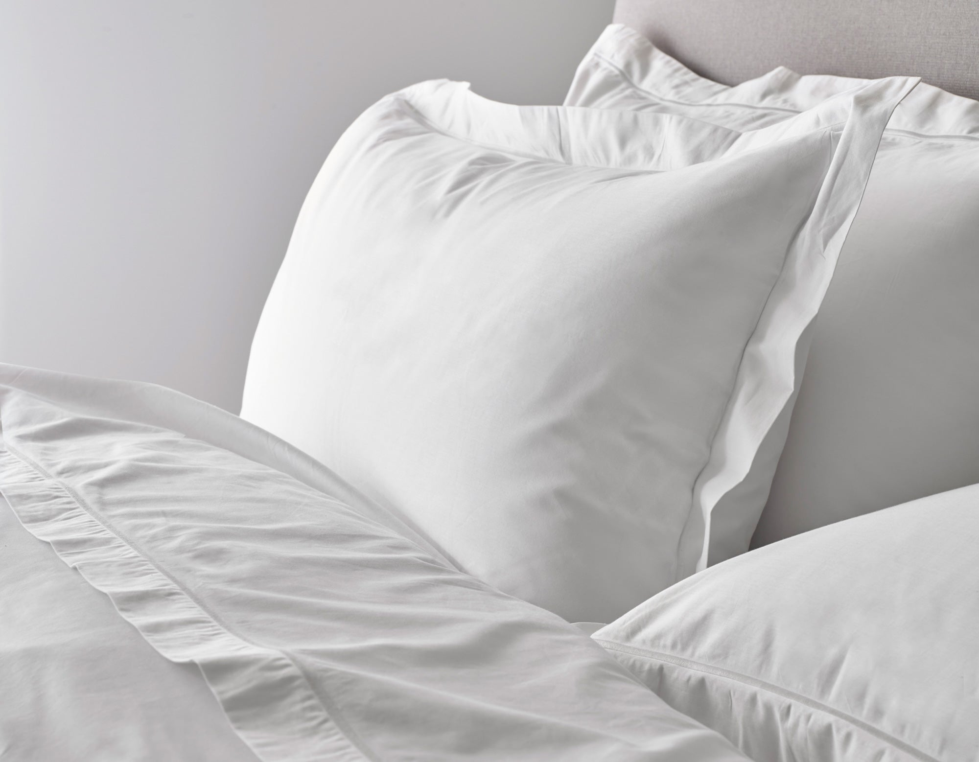 Egyptian Cotton Bed Linen Detail | scooms