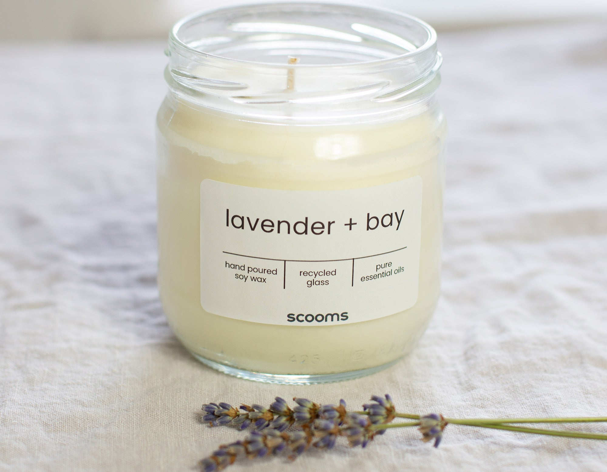Lavender candle | scooms