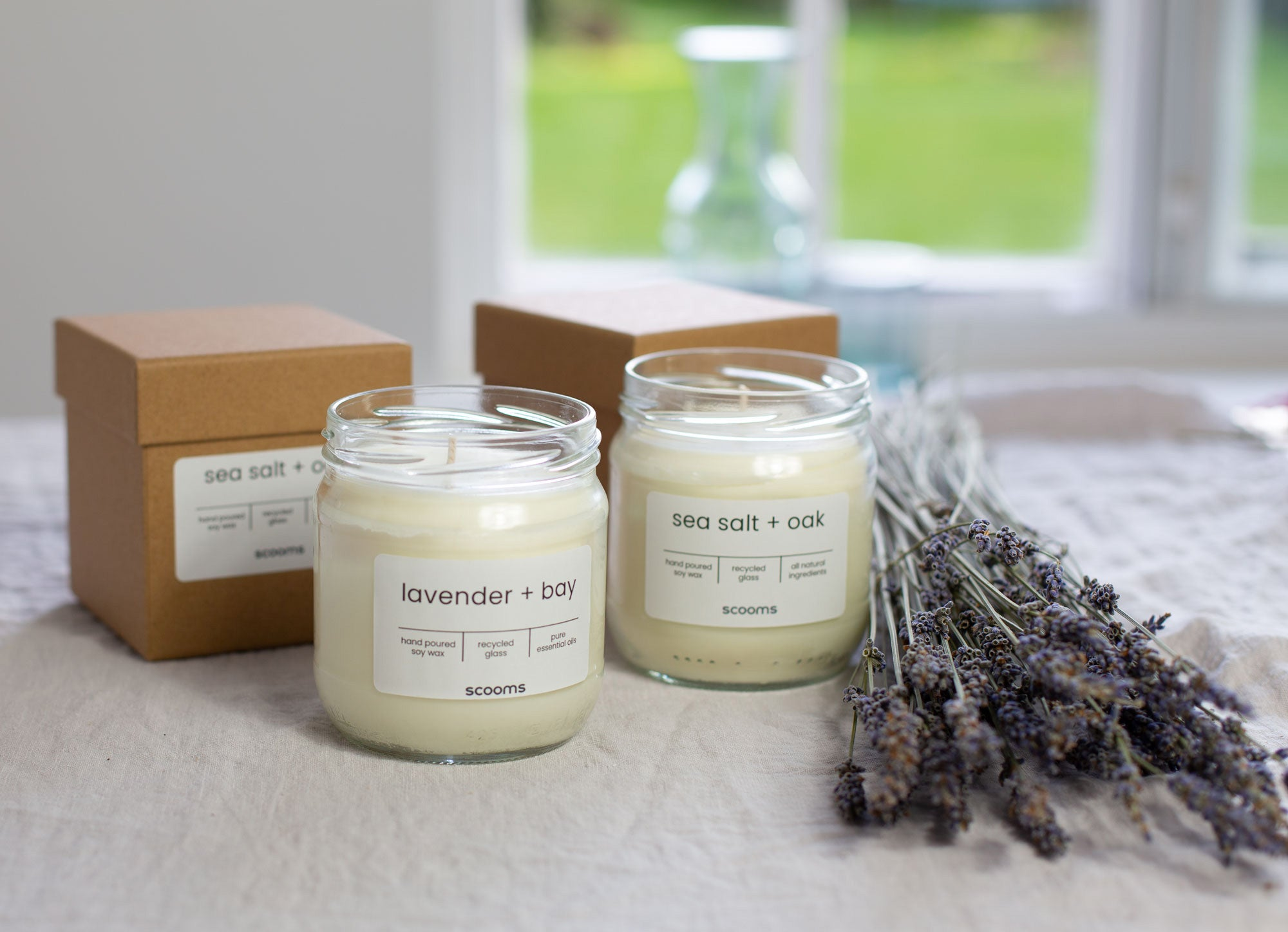 100% soy wax candles | scooms