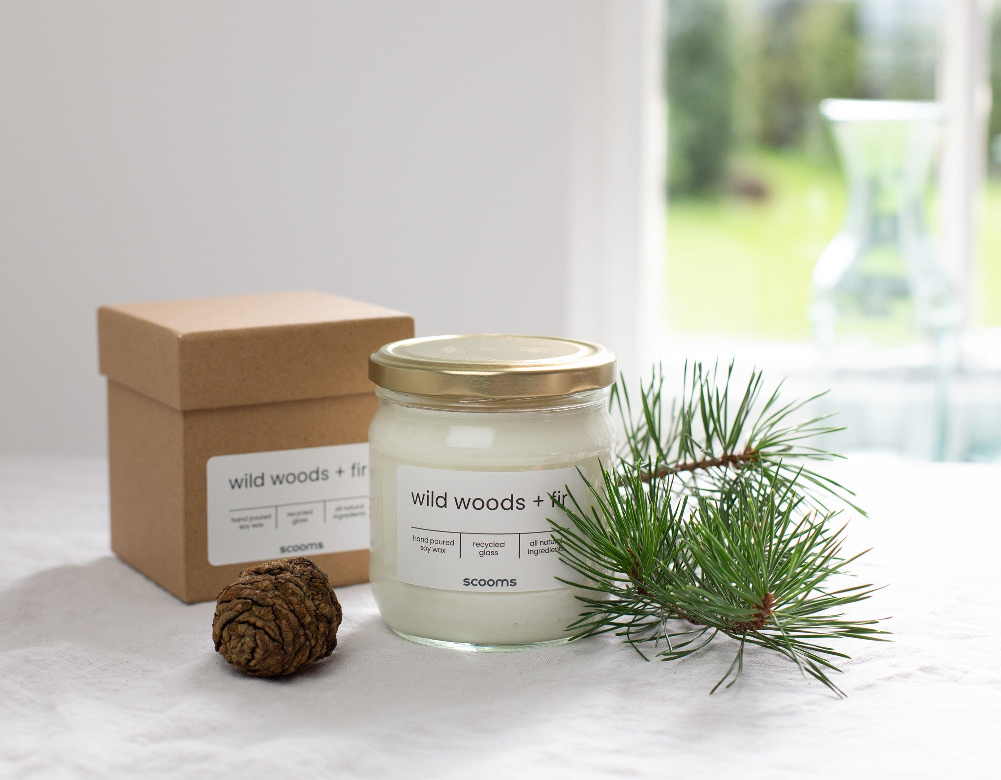 Wild woods + Fir candle | scooms