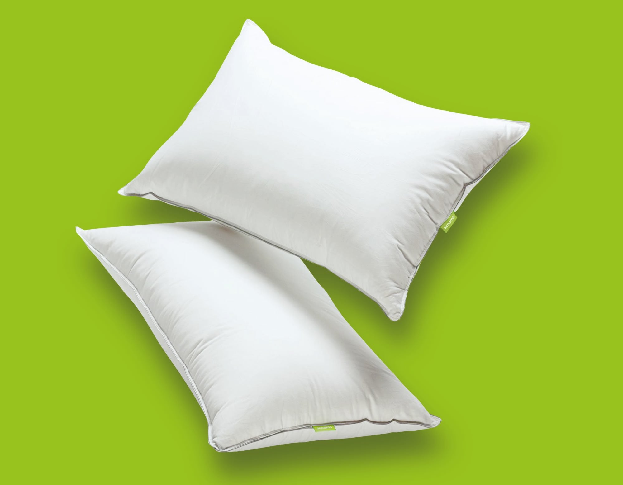 Hungarian goose down pillows floating | scooms