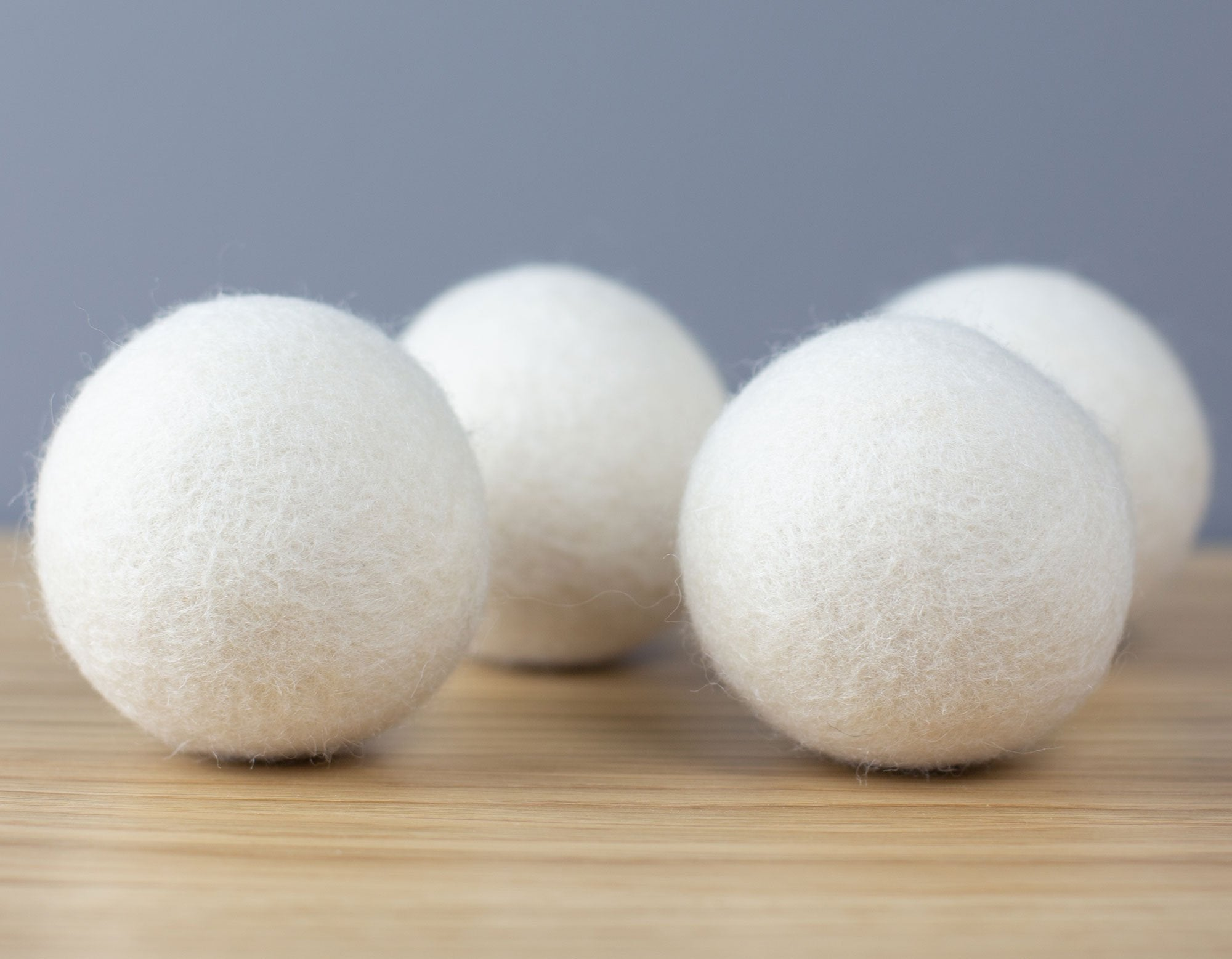 Wool dryer balls | scooms bedding