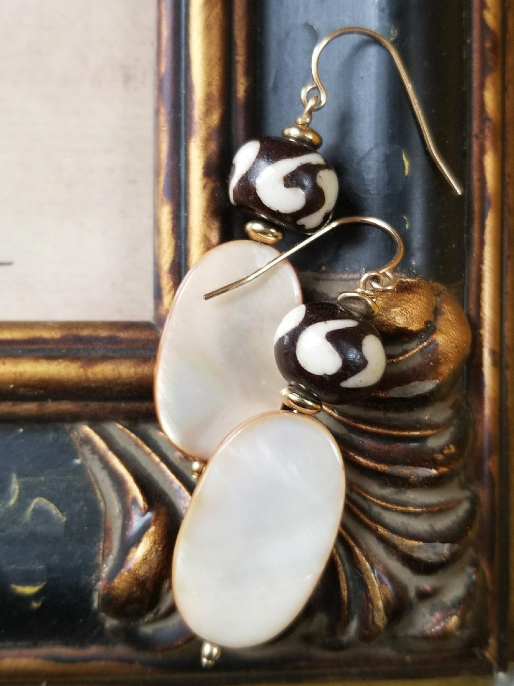 Gorgeous Mudcloth Earrings - Sheryl Heading Designs