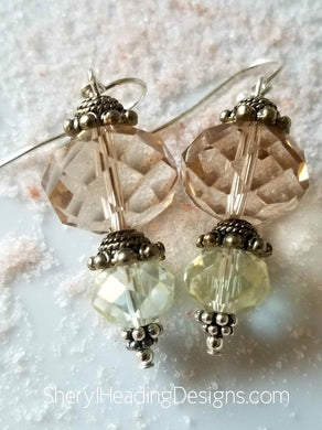 A Delicious Vintage Dangle Pair of Earrings - Sheryl Heading Designs