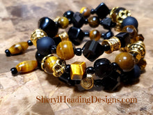 Eye of the Tiger Tiger Eye Wrap Bracelet