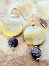Golden Dangle Earrings - Sheryl Heading Designs