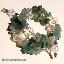 Be Green With Envy Wrap Bracelet - Sheryl Heading Designs