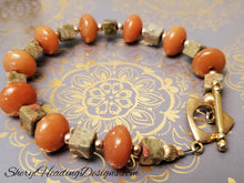 Orange You Happy Precious Stones Bracelet