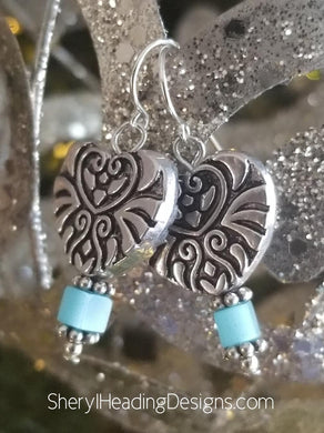 Adorable Hearts Earrings - Sheryl Heading Designs