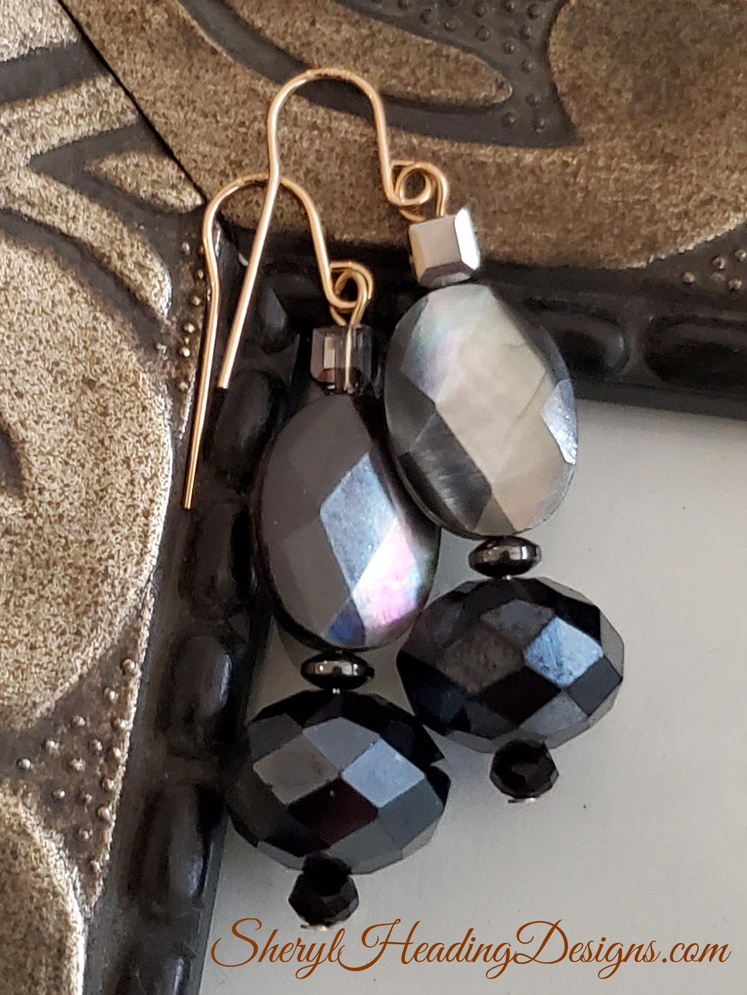 Multi-Faceted Beautiful Reflections Earrings