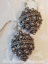 Silver Clusters Round Dangle Earrings - Sheryl Heading Designs