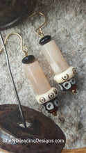 Tribal Design African Beaded Earrings - Sheryl Heading Designs
