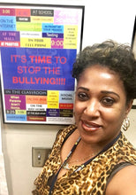 It's Time to Stop the Bullying Poster - Sheryl Heading Designs