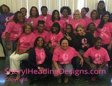 Breast Cancer Awareness Ethnic Hope Design T Shirt - Sheryl Heading Designs