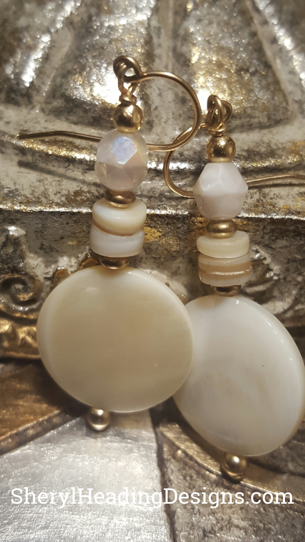 Essence of Pearl Earrings - Sheryl Heading Designs