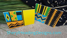 Colorful Ethnic Set of 10 Note Cards - Sheryl Heading Designs