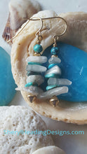 Fun at the Beach Earrings - Sheryl Heading Designs