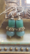 Aventurine Tiny Treasure Earrings - Sheryl Heading Designs