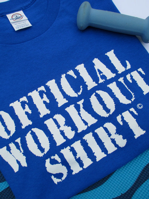 Official Exercise/Workout T-Shirt - Sheryl Heading Designs