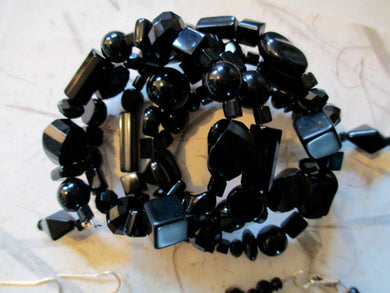 Beautifully Wrapped in Black Onyx Bracelet - Sheryl Heading Designs