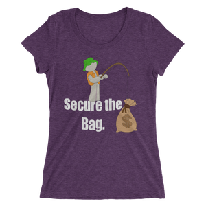 Women's Premium Secure The Bag Tee - Mytshirtculture