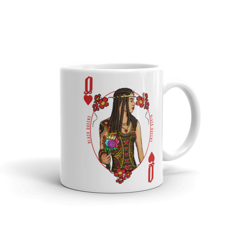 "Queen of Hearts  ""Black Queens"" Mug - Mytshirtculture"