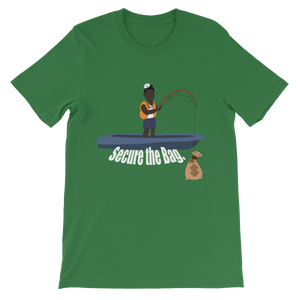 Premium Secure The Bag Desmond the fisherman Tee - Mytshirtculture