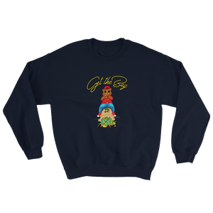 Contemporary Get The Bag Sweatshirt ( Gold Text ) - Mytshirtculture
