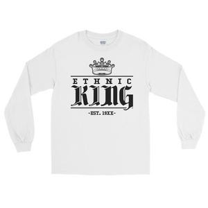Ethnic King Long sleeve w/ Black Design - Mytshirtculture