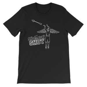 Premium Shoot Your Shot Tee w/ White Design - Mytshirtculture