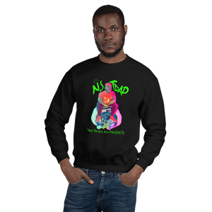 NJ TRAP ( Take Risks and Prosper ) Unisex Sweatshirt (GREEN TEXT) - Mytshirtculture