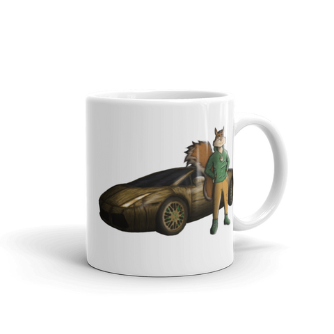 "Wooden Lambo ""Squirrel Boss"" Mug - Mytshirtculture"