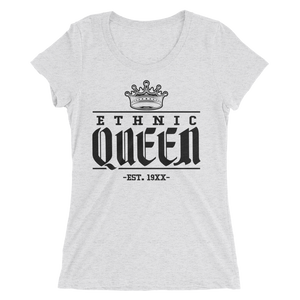 Premium Ethnic Queen Tee w/ Black Design - Mytshirtculture