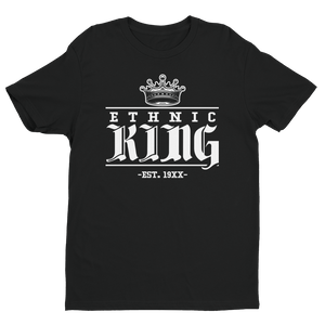 Premium Ethnic King Tee w/ White Design - Mytshirtculture