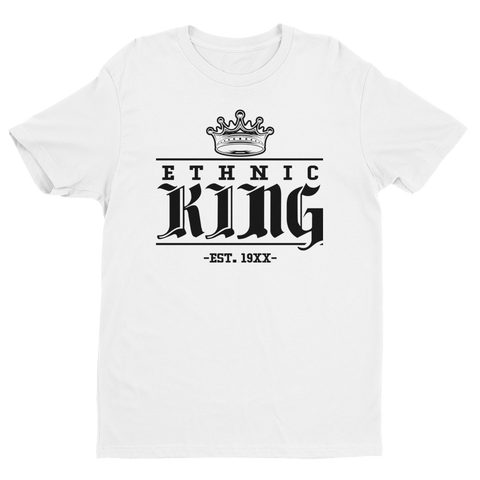 Premium Ethnic King Tee /w Black Design - Mytshirtculture